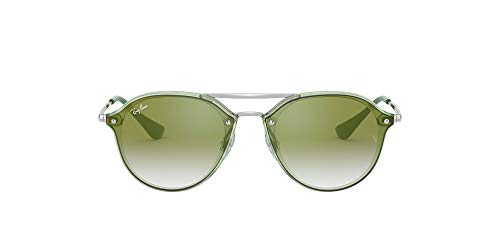 Ray-Ban Junior Green Mirror Red